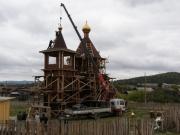 Житель Маука Александр Ватутин с тридцатью односельчанами построили новый храм