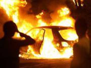 В Миассе снова сгорел автомобиль