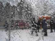 В области возможны умеренные дожди с мокрым снегом