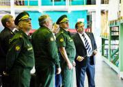 Министр обороны РФ Сергей Шойгу посетил ГРЦ
