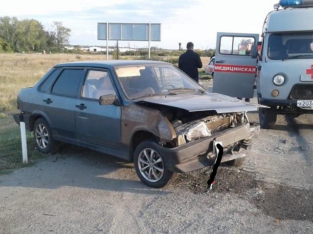 В Челябинской области женщина-водитель устроила ДТП с двумя пострадавшими