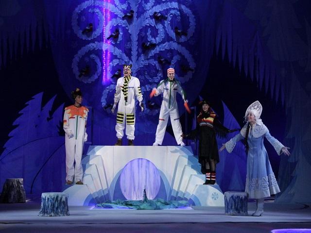 Сценарий новогодней театрализованной сказки для старшеклассников