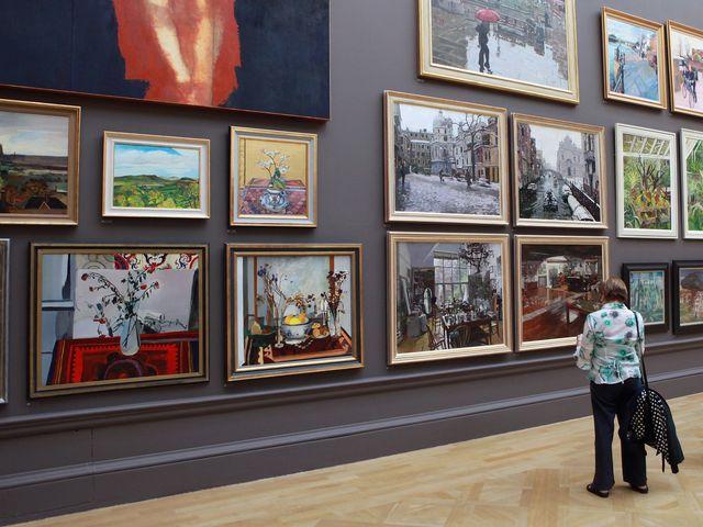 Как сделать свою выставку картин